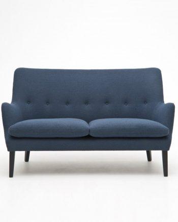 Arne Vodder AV 53 2-seat sofa by Nielaus