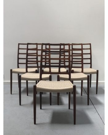 Niels-Moller-Model-82-Rosewood-Dining-Chairs