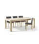 Skovby #24 dining table #90 chairs
