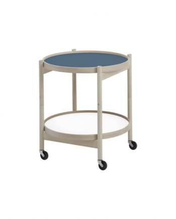 Hans Bølling Tray Table Beech - Storm Blue/White