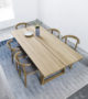 Skovby Plank #105 dining table #52 dining chairs