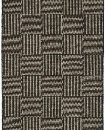 Linie Design CHESS rug Black