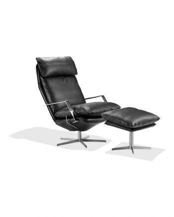Søren Lund SL 330 armchair and footstool