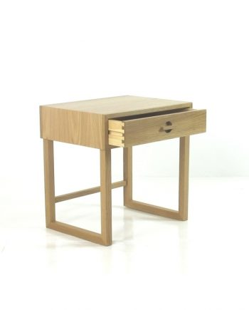 Oak Bedside Table by Danish Red