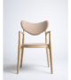 True North – Salon Chair in Beech and Fabric