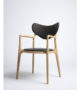 True North – Salon Chair in Beech and Leather