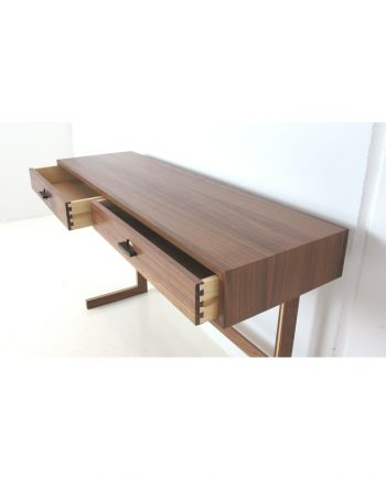 Walnut Console Table with drawers by Danish Red