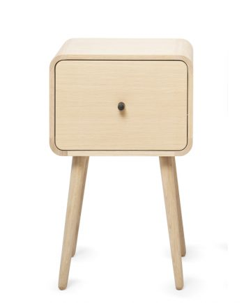 The Box bedside table | Via Cph | Oak