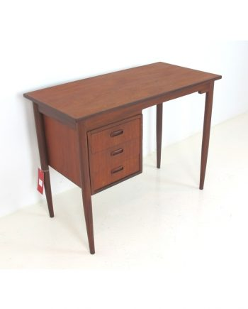 Danish Vintage Writing Desk in Teak