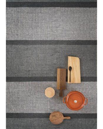 Linie Design MILLENIUM rug Grey in situ