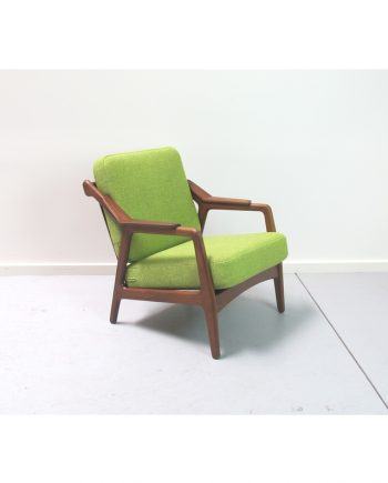 H.Brockmann-Petersen Chair in Teak front