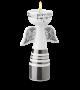 Bjorn Wiinblad | Angel Tealight holder H 17 cm | Silver