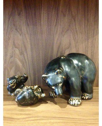 Ceramic Bear Figurines by Royal Copenhagen