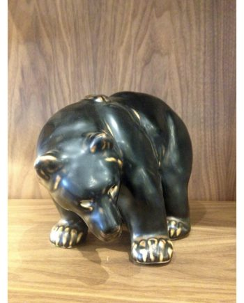 Large Ceramic Bear Figurine by Royal Copenhagen