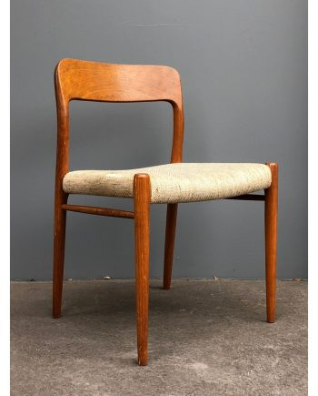 Niels Møller | Vintage Model 75 teak dining chair