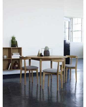 Haslev | 800 Series Solid timber extension table
