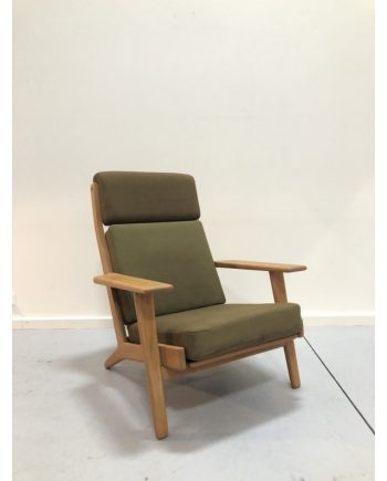 Hans Wegner Highback Plank Chair in Oak