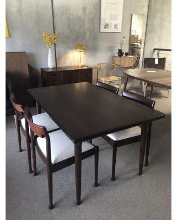 Gunni Omann Rectangular Rosewood Dining Table