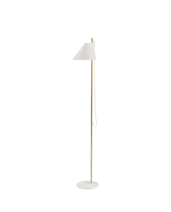 YUH Floor Lamp Brass in Marble and