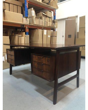 Omann Jun Model 75 desk in Brazilian Rosewood