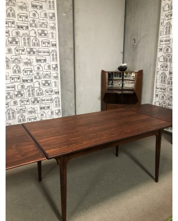 Vintage Danish Table in Rosewood with extensions | Model 54 | Gunni Omann