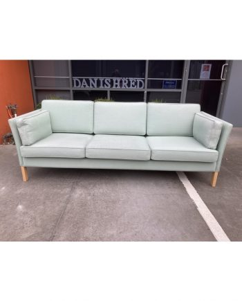 Danish Vintage 3-Seat Sofa in Fabric